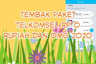 Tembak Paket Telkomsel Rp 0 Rupiah dan OMG 2020