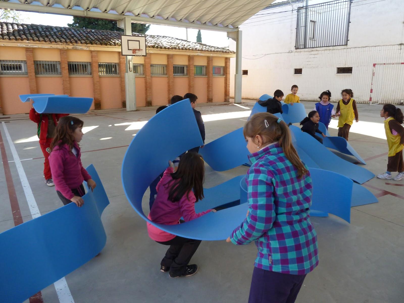Educacion Fisica Juegos Cooperativos Trotamundos De 2º