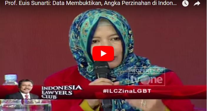 """Prof. Euis Ungkap Fakta Mengerikan Dibalik LGBT: """"Satu Orang Gay Merekrut 5 Orang"""""""