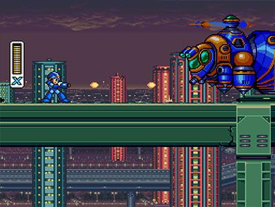 Megaman x Lvl 1