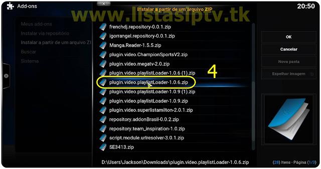 Como Instalar PlayList Loader no KODI - Várias listas no KODI