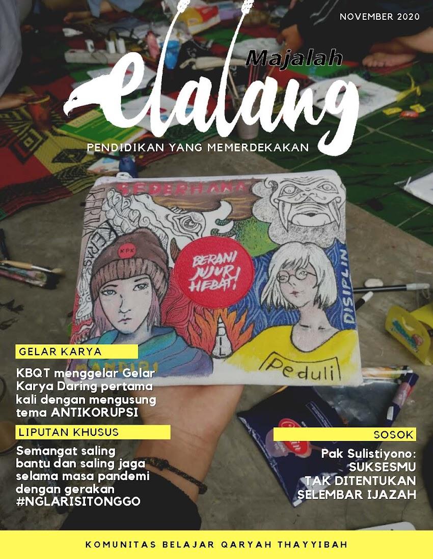 Majalah Elalang (11/2020): Gemakan Semangat Antikorupsi!