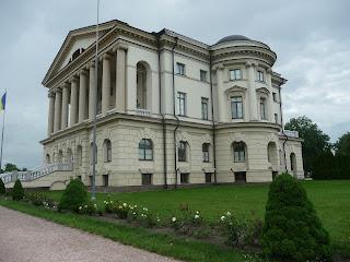 Батурин. Черниговская обл. Дворец Разумовского