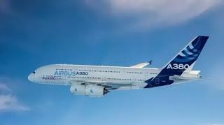 O Airbus A380: de 489 a 615 passageiros