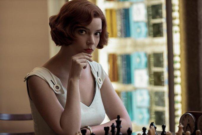 L'actrice principale de la série est Anya Taylor-Joy - Photo © Netflix