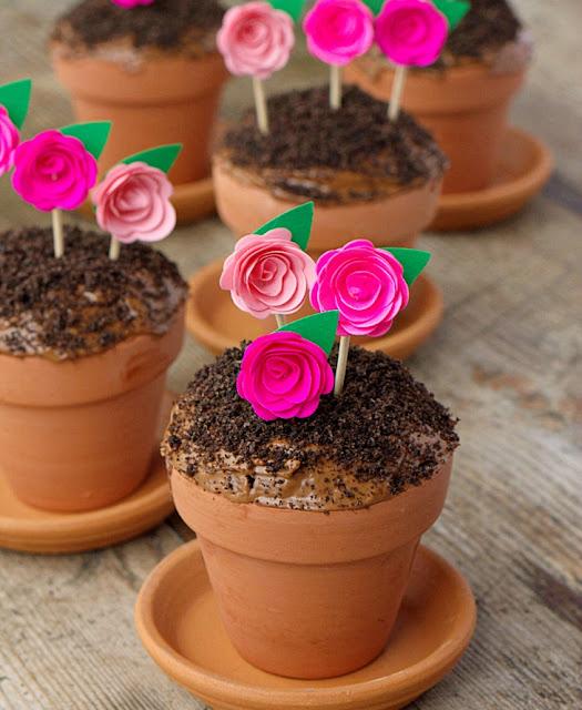 Φτιάξτε όμορφα, ανοιξιάτικα cupcakes