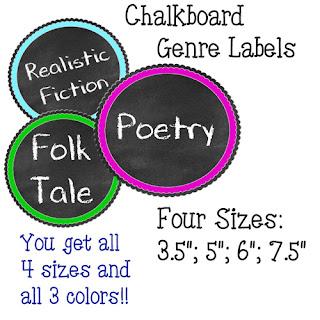 https://www.teacherspayteachers.com/Product/Chalkboard-Genre-Tags-4-Sizes-2680934