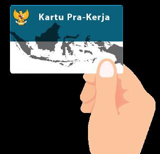 Alur cara kerja kartu Pra Kerja Indonesia 2020
