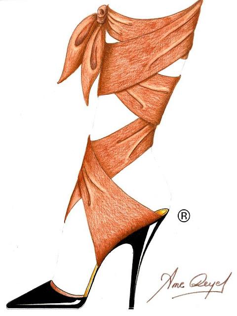 Boceto Serie Paulina's de Ame Reyes