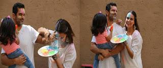 Neha dhupia with husband angad bedi