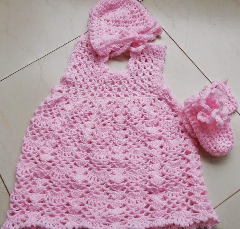 free crochet pattern for baby dress