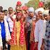 अखंड रामधुनि यज्ञ को लेकर 151 कन्याओं ने निकाली कलश यात्रा