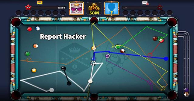 8 ball pool Report Hacker Cheto To Miniclip