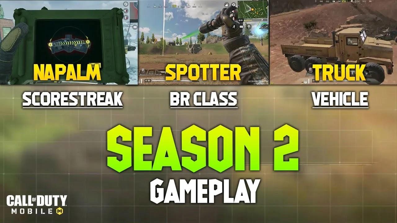 تسريبات الموسم الثاني من Call Of Duty Mobile: تاريخ الإصدار وفئة Spotter BR ووضع الدبابة والمزيد
