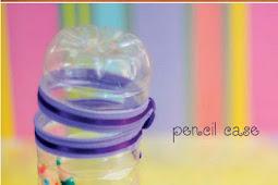 Cara Membuat Lampu Tidur Dan Tempat Pensil Dari Botol Plastik