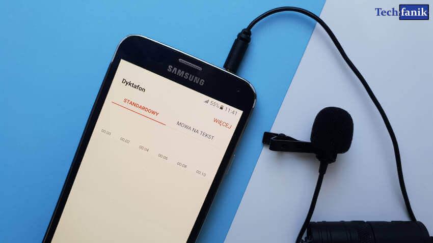 boya by-m1 działanie ze smartfonami samsunga
