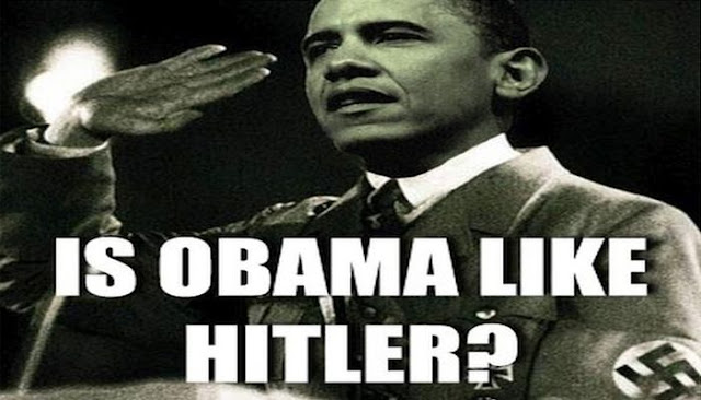 Obama and Hitler have many similarities