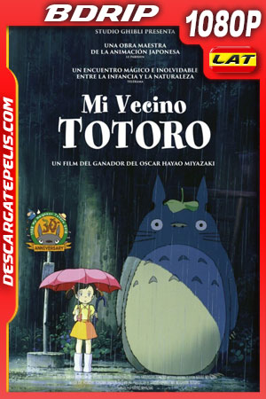 Mi vecino Totoro (1988) 1080p BDrip Latino – Castellano – Ingles