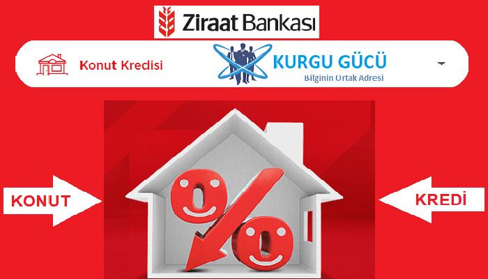 Ziraat Bankası Konut Kredisi Hesaplama Nasıl Yapılır - Kurgu Gücü