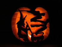 Carved pumpkin designs