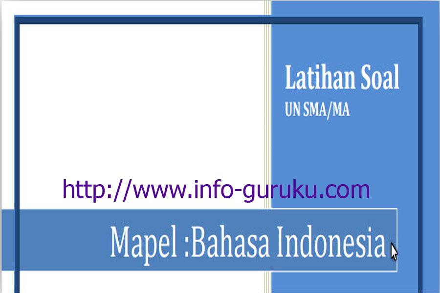 Kumpulan Latihan Soal Ujian Nasional Tahun 2016 Jenjang Sma Ma Buku Rpp Guru