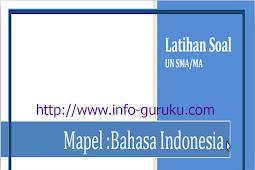 Kumpulan Latihan Soal Ujian Nasional Tahun 2016 Jenjang SMA / MA