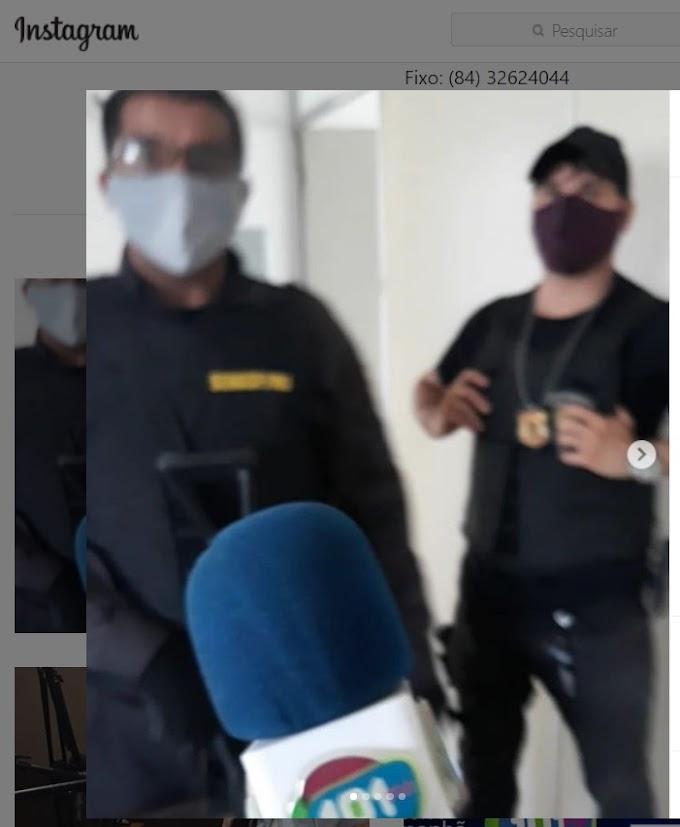 Ação das polícias CIVIL e MILITAR capturou dois indevidos que praticavam assaltos em João Câmara.