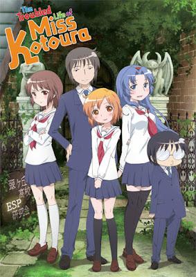 The Troubled Life of Miss Kotoura | Kotoura-san | 720p | BDRip | English Subbed