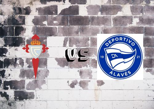 Celta de Vigo vs Deportivo Alavés  Resumen
