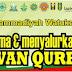 Daftar Panitia Penerimaan dan Penyaluran Hewan Qurban PCM Watukebo Tahun 2017