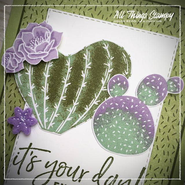Flowering Cactus Stampin Up