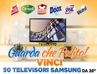 """Eroi di Casa : concorso """"Guarda che pulito"""" : vinci 50 TV Samsung 28"""""""