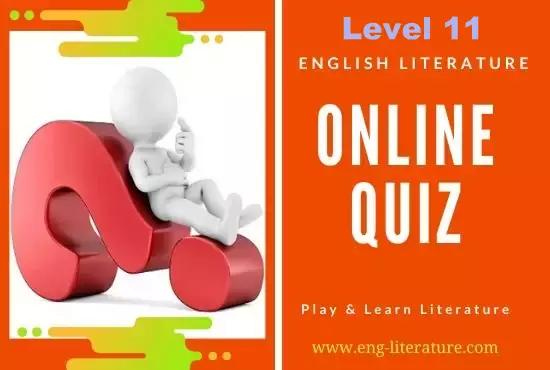 English Literature Quiz on Drama : Level 11
