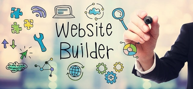 how much cost hire someone to build a website vs diy site builder