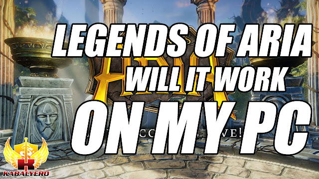 LEGENDS OF ARIA, Will It Work On My PC?