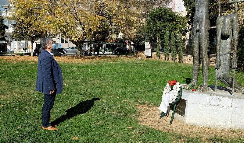 ΣΥΡΙΖΑ Έβρου: Το μήνυμα του Πολυτεχνείου είναι πάντοτε επίκαιρο - Κατάθεση στεφάνου από αντιπροσωπεία της Ν.Ε ΣΥΡΙΖΑ - ΠΣ Έβρου