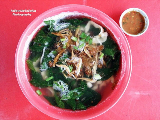 Soup Pan Mee RM 5.50 (Small) RM 6.50 (Large)