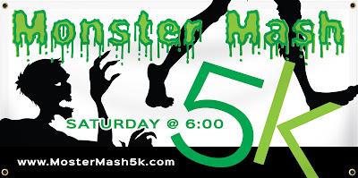 Monster Mash Halloween 5K Banner Template | Banners.com