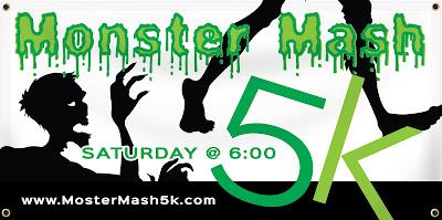 Monster Mash Halloween 5K Banner Template | Banners.com