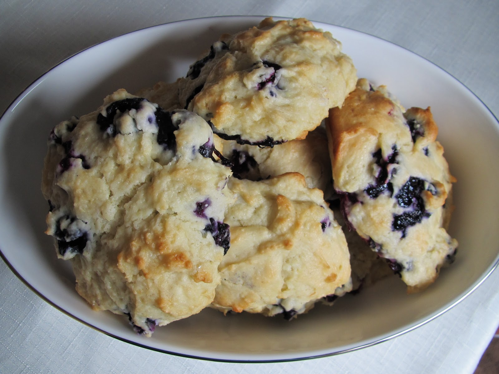 Low Fat Blueberry Scones 82