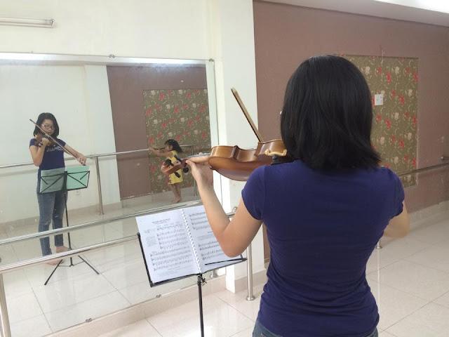 Khóa học Violon tại trường nhạc SMS