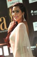 Prajna Actress in backless Cream Choli and transparent saree at IIFA Utsavam Awards 2017 0060.JPG