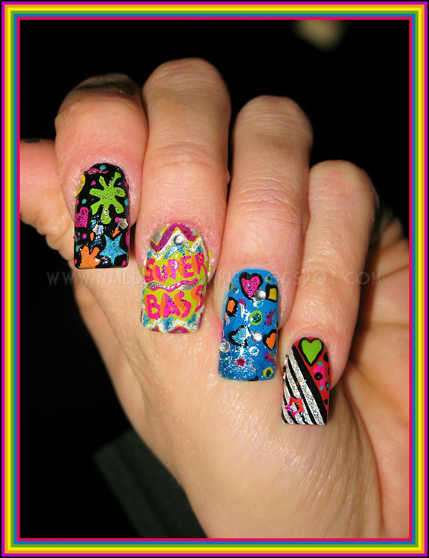 Nicki Minaj Nail Designs | Nail Designs, Hair Styles ...