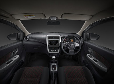 Interior Toyota Agya