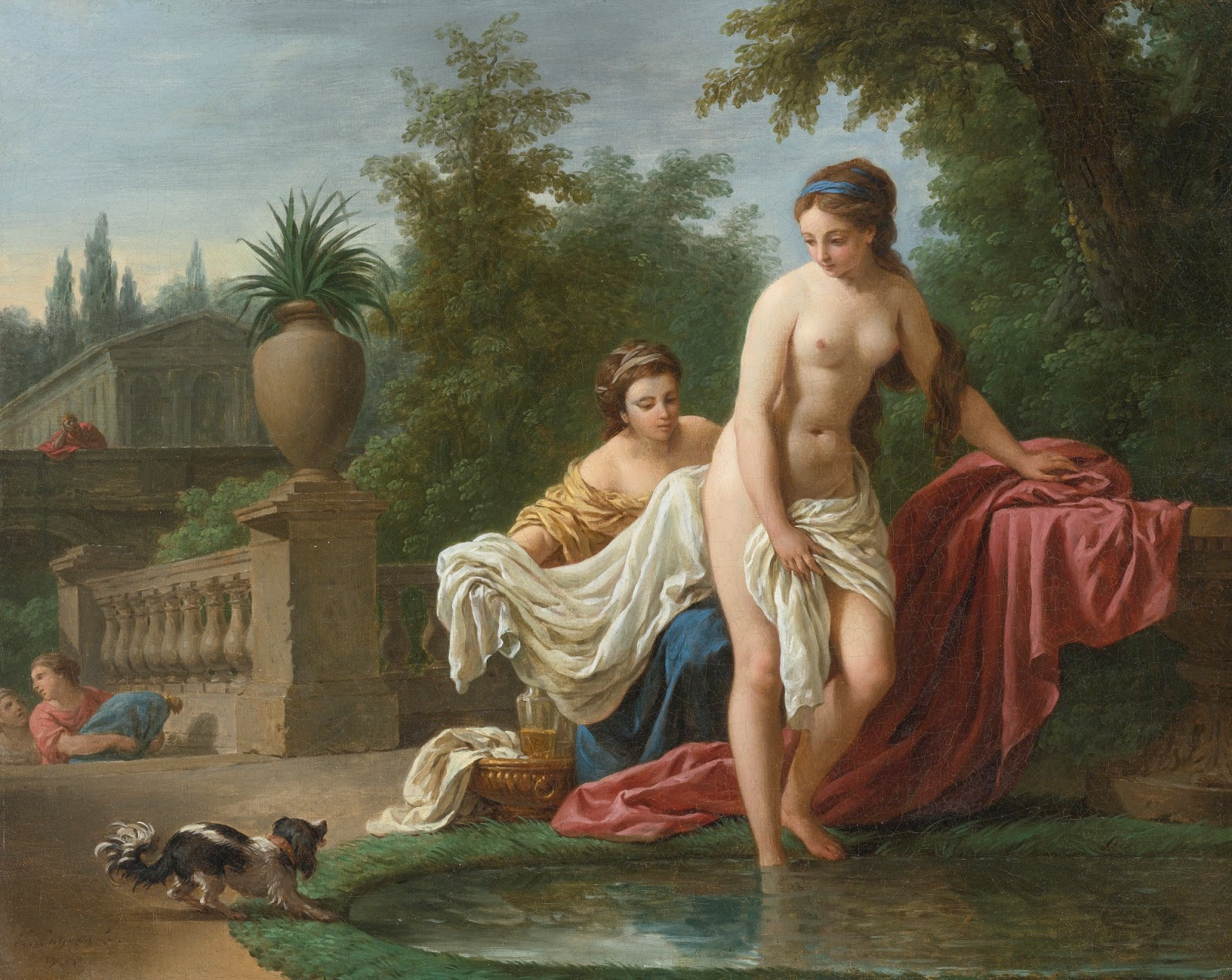 DAVID AND BATHSHEBA 1770