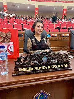 Imelda Nofita Rewah, Usul DPRD Sulut Gunakan Tumbler