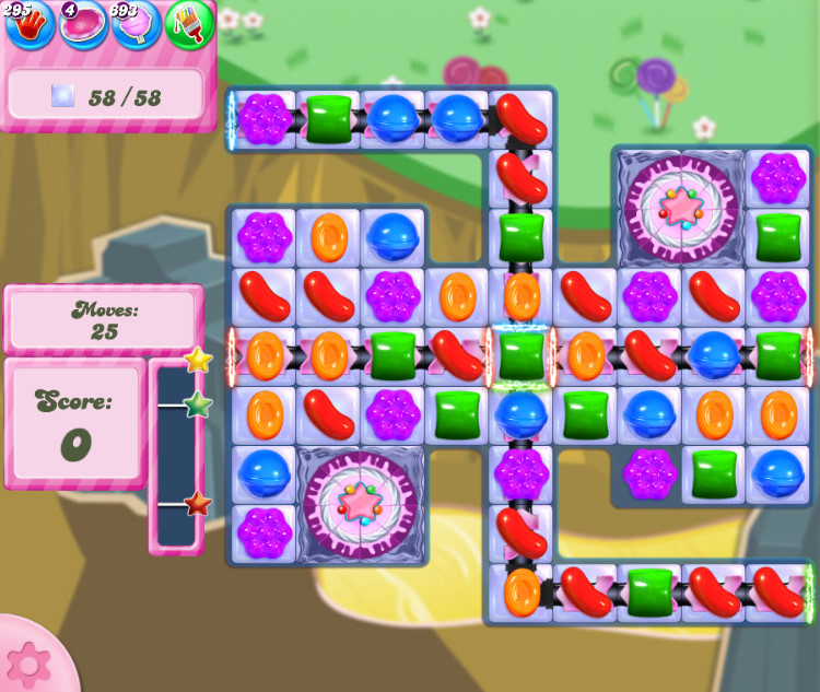 Candy Crush Saga level 2853