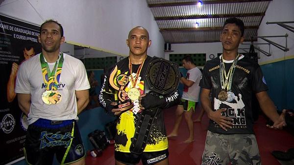 lutadores sergipanos