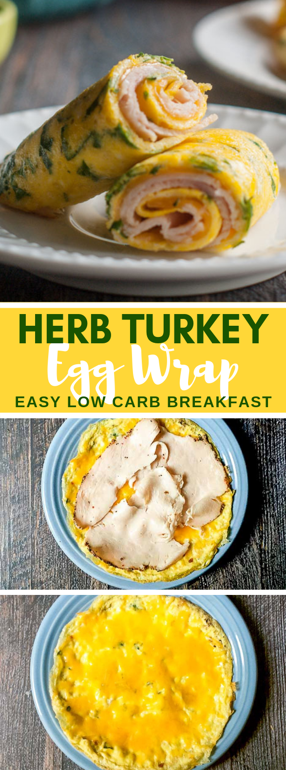 HERB TURKEY EGG WRAP – A GLUTEN FREE, LOW CARB TORTILLA SUBSTITUTE #paleo #diet