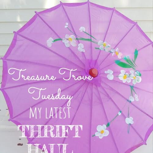 Treasure Trove Tuesday - My Latest Thrift Haul